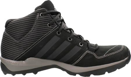 Adidas Daroga Plus-Mid Lea Wanderschuh, schwarz / Granit / Nacht Metallic, uns 8,5 Black/Granite/Night Metallic