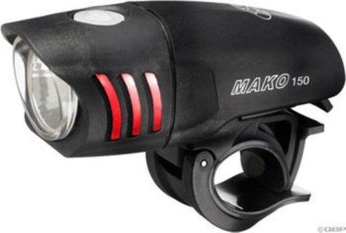Nite Rider vorne Mako 150Lumen Pendler Licht–Schwarz von NiteRider