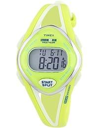 Timex - T5K656SU - Sport - Montre Femme - Quartz Digital - Cadran Jaune - Bracelet Résine Jaune