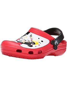 Crocs Mickey Paint Splatter - Zuecos de goma