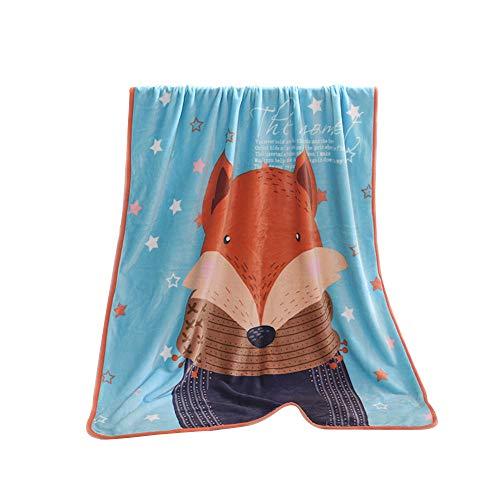ZZH Waschbare Tagesdecke Decke Schlafzubehör dekorative Überwürfe Couch werfen über Flanell Super Soft