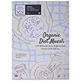 Grain Stories Organic Wheat Muesli with Omega Nuts - Diet (Without Sugar) 300gms