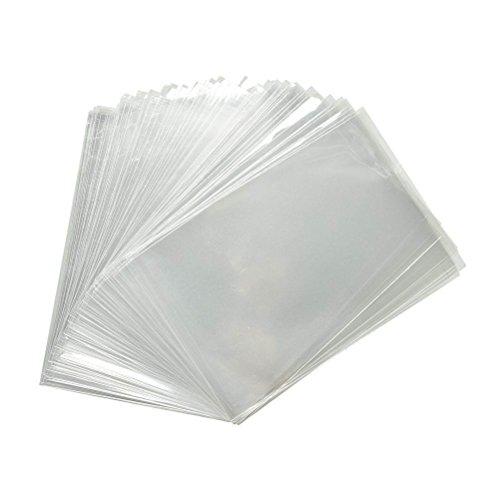 200 sac plastique transparent cellophane 7 x 10 cm alimentaire emballage en sachet cabas de rangement sacs cellophanes transparents sachets plastiques pochette biscuit petit decore bonbon opp mini