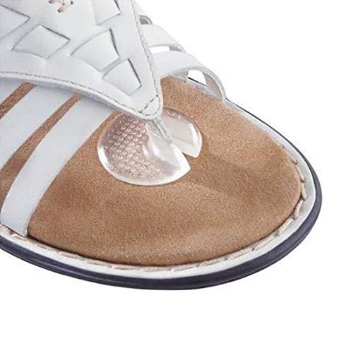 Silikon Kissen Pads Toe Separator Protector Anti-Rubing/Scratch Fußpflege Werkzeug Unsichtbare Fußpolster Für Flip-Flops - Flip-flop-kissen