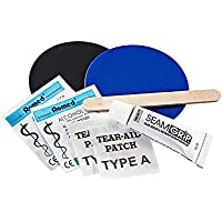 Therm-a-Rest Permanent Home Repair Kit - inflatable repair kits (Patch, Black, Blue, Brown, Fabric)