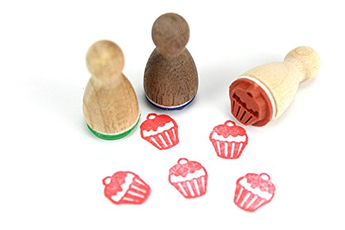 Stemplino Mini Stempel Cupcake