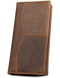Kattee - Portefeuille en cuir Portefeuille homme en cuir Porte-monnaie