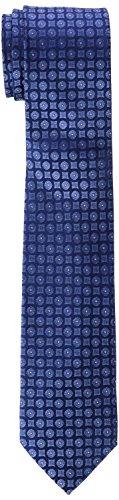 Calvin Klein Herren Krawatte Slim 6.4 cm, Blau (Navy 411), One Size