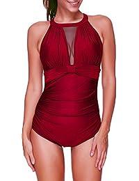 finest selection 054c6 759cc Suchergebnis auf Amazon.de für: Rot - Bademode / Damen ...