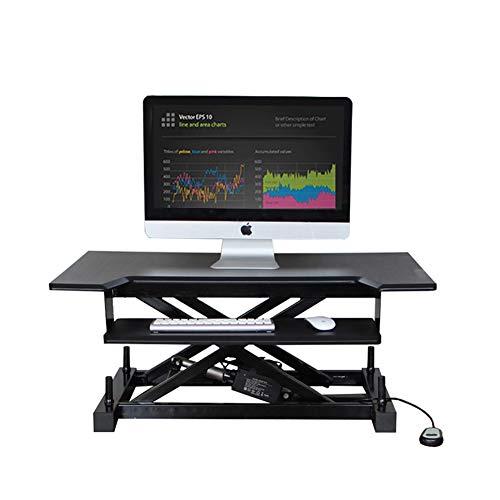 Lift Computer Büro Schreibtisch Gesund Sit-Stand Desktop Computer Workstation Höhenverstellbare...