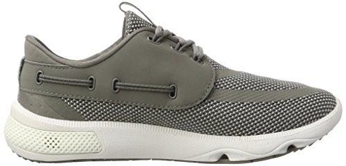 Sperry Unisex-Erwachsene 7 Seas 3-Eye Tex Grey Bootsschuhe Grau (Grey)