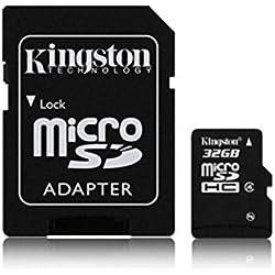 Kingston 32GB Micro SD HC Speicherkarte für LG Electronics Leon Mobile