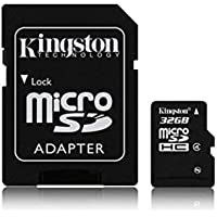 Kingston - Tarjeta de Memoria Micro-SD 32GB para Smartphone HTC One M8 Mobile