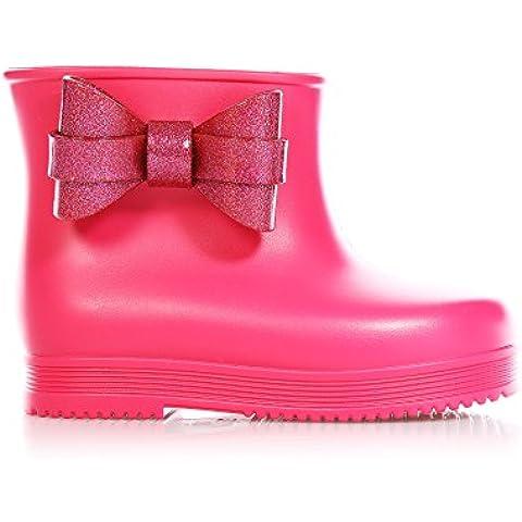 MINI MELISSA - Stivaletto rosa, da pioggia, gomma profumata, Bambina, primo passo