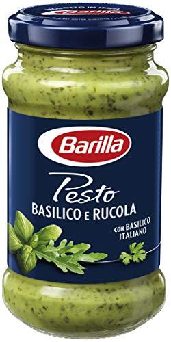 Barilla grünes Pesto Basilico e Rucola - 1 Glas (1x190g)