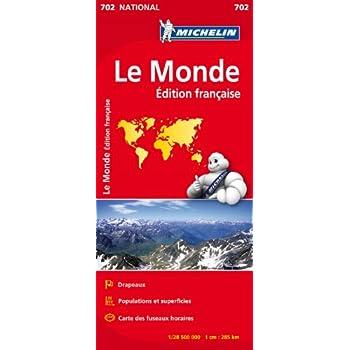 Carte NATIONAL Le Monde