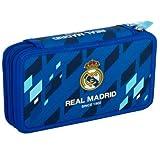 Real Madrid Federtasche Federmappe Kinder Federmäppchen Junge Schüleretui 28-teilig gefüllt