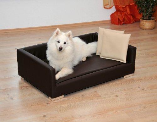 Silvio Design Hundesofa, Hunde-Bett, Tiersofa, Lucky Größe 2, Maße: ca. 65 x 100 x 32 cm
