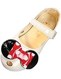 Berimaterry Lazo para Niña Princesa Fiesta Zapatos Zapatilla con Lazo para Niña Princesa Fiesta Sandalias de