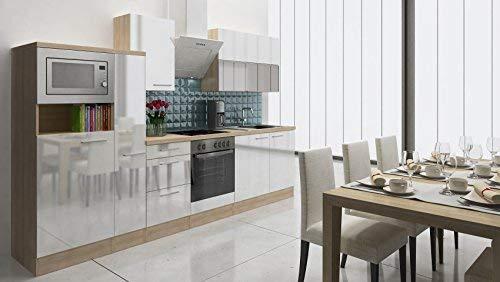 respekta Premium Incasso Cucina Cucina Riga 310 cm Finto Legno di ...