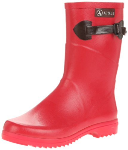 Aigle - Chanteboot Pop, Stivali Donna Rosso (Rouge (Strawberry))