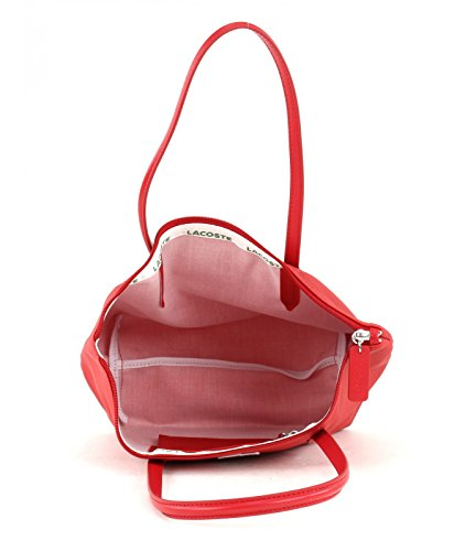 Lacoste  L.12.12, sacs bandoulière femme Salsa (Rouge)