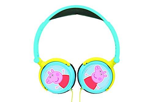 Lexibook hp015pp Peppa Pig Stereo-Kopfhörer (Peppa Pig-schule-tasche)