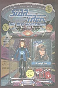 Holodeck Series (Dr. Beverly Crusher in 1940`s Attire Holodeck Series - Actionfigur - Star Trek The Next Generation von Playmates)