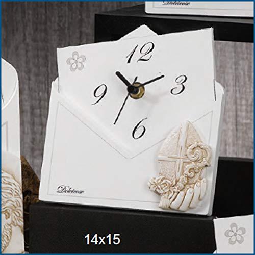 Albalù bomboniere originale orologio lettera cresima