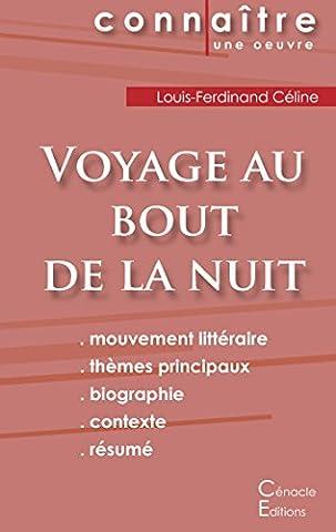 Fiche de Lecture Voyage au Bout de la Nuit de Louis-Ferdinand Céline (Analyse Littéraire de