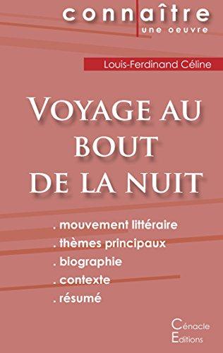 Fiche de Lecture Voyage au Bout de la Nuit de Louis-Ferdinand Céline (Analyse Littéraire de Référence)