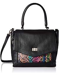 Satyapaul Women's Handbag (Black) (T397-0167)