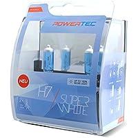 M-Tech PTZSW7-DUO Lampadina Powertec Super White H7 12V 55W