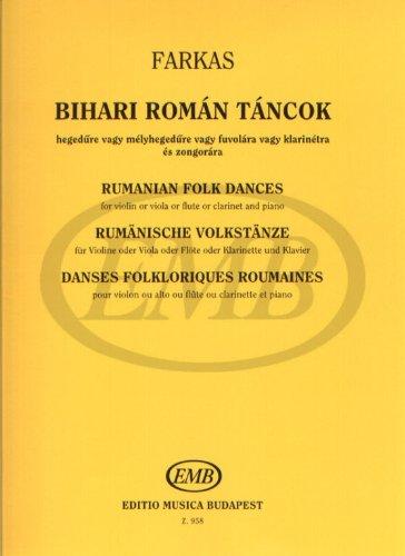 Rumanische Volkstanze Aus Der Sammlung V...