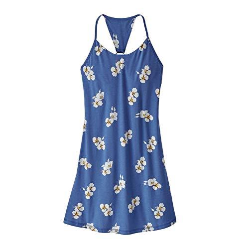 Patagonia W \'S Edisto Kleid, Damen S mariposa lily imperial blue