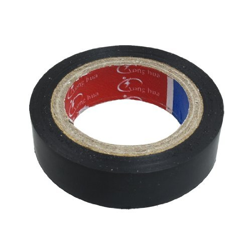 56 mm x 15 mm PVC Electrical Wire Anschluss Isolierband Schwarz