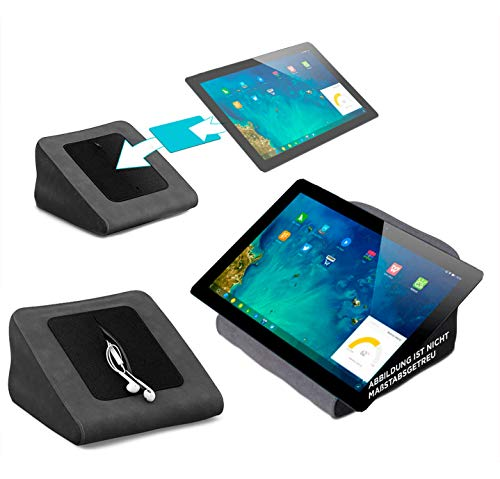 reboon Tablet Kissen für das Cube i7 Remix - ideale iPad Halterung, Tablet Halter, eBook-Reader Halter für Bett & Couch (Ebook Remix)