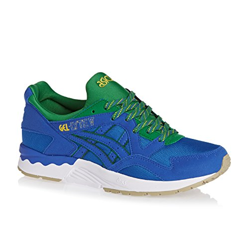 Asics Gel-Lyte V, Baskets Basses Mixte Adulte Classic Bleu