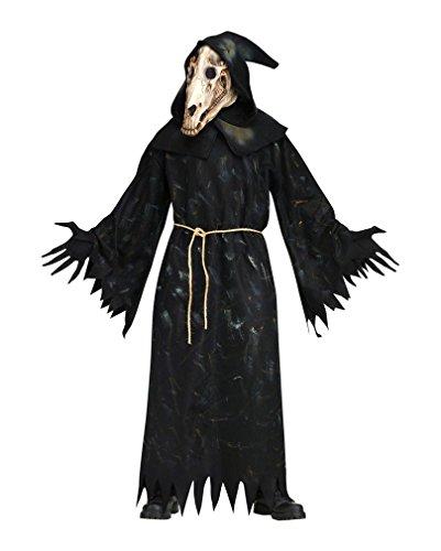 Dämonischer Pferdegeist Halloween Kostüm (Pferd Skelett Kostüm)