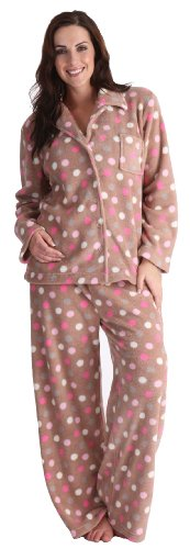 Tom Frank pigiama da donna in acciaio inox Beige - Mink