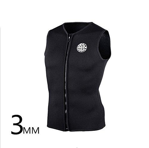 Gresonic Tauchen Unterzieher Neopren 3MM Tauchweste Jacke Wärmeschutz unter Tauchanzug Badeweste für Wassersport-XXL