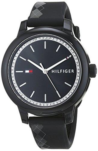 Tommy Hilfiger Reloj Análogo clásico para Mujer de Cuarzo con Correa en Silicona 1781815