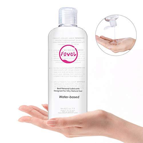 Fovel Lubricante Dilatador Anales 236ml Gel Sexuales a Base De Agua 100% Natural Sin Fragancia...