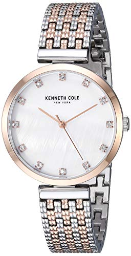 Kenneth Cole New York KC50256003 Women's Analogue Quartz Watch Stainless Steel