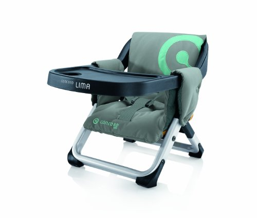 Concord Lima Travel High Chair (Shadow Grey)