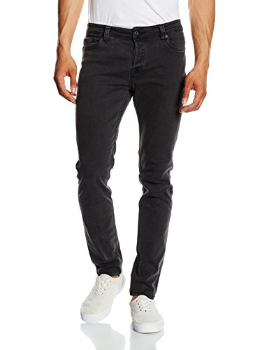 Only & Sons Loom, Jeans Homme Gris - Grey (Dark Grey Denim)
