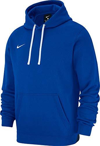 c22ed59471f Nike M Hoodie Po FLC TM Club19 Sweatshirt, Hombre, Royal Blue (White)