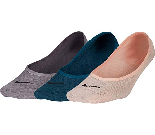 Nike Damen W Nk Evry LTWT Foot 3pr Socken, Mehrfarbig, M (Nike Lightweight Damen)