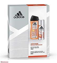 Idea Regalo - Adidas - Kit Adipower Bagnoschiuma 250 ml + Spray corpo anti-traspirante 150 ml