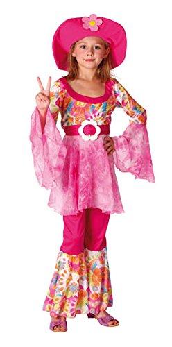 Boland 86928 - Kinder-Kostüm Happy Diva, Größe (Halloween Disco Hippie Kostüm)